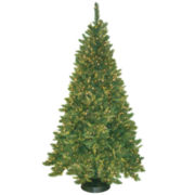 7.5' Pre-Lit Mixed Pine Christmas Tree