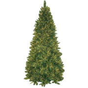 9' Pre-Lit Mixed Pine Christmas Tree