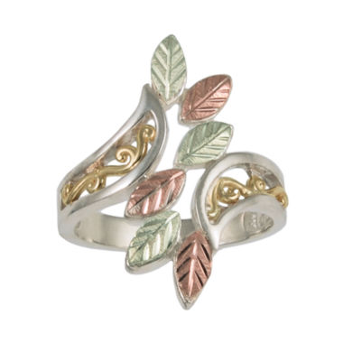 jcpenney.com | Black Hills Gold Jewelry by Coleman® Filigree Sterling Silver Swirl Ring