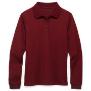 IZOD® Long-Sleeve Polo Shirt - Girls 4-18