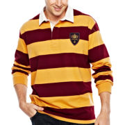 IZOD® Long–Sleeve Rugby Polo Shirt–Big & Tall