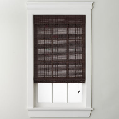 jcpenney.com | JCPenney Home™ Bamboo Woven Wood Roman Shade
