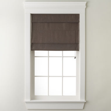 jcpenney.com | JCPenney Home™ Custom Textured Roman Shade
