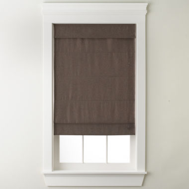 jcpenney.com | JCPenney Home™ Textured Roman Shade