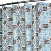 Park B. Smith Renaissance Tiles Shower Curtain