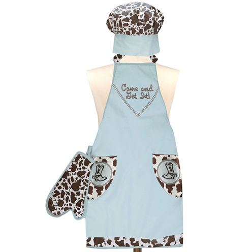 Kids' Lil' Cow Pokie 3-pc. Apron Set