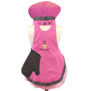Kids' Lil' Cup Cake 3-pc. Apron Set