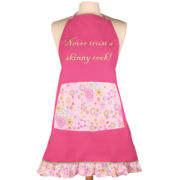 Women's Never Trust a Skinny Cook Apron