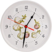 Abbiamo Tutto Garlic Kitchen Wall Clock