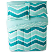 Camden Chevron Complete Bedding Set with Sheets