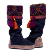 MUK LUKS® Marissa Tall Boot Slippers