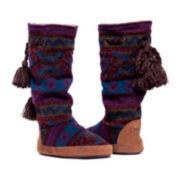 MUK LUKS® Emma Boot Slippers