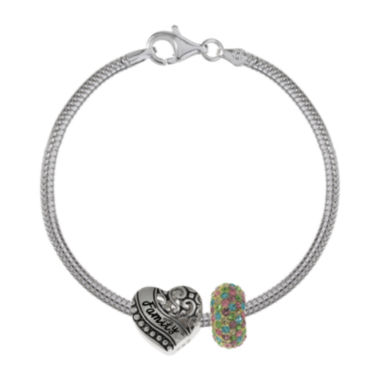 jcpenney.com | Forever Moments™ Family 3-pc. Bracelet and Beads Set