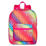 Rainbow Print Backpack