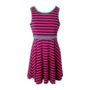 Pinky Skater Dress - Girls 6-16