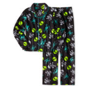 Arizona 2-pc. Skull Pajama Set - Boys XS-L