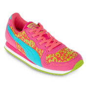Puma® Cabana Racer Girls Running Shoes - Little Kids