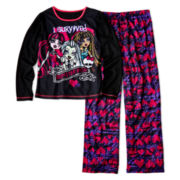 Monster High 2-pc. Black Pajama Set - Girls 6-16