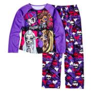 Monster High 2-pc. Purple Pajama Set - Girls 6-16