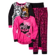 Monster High 4-pc. Pajama Set - Girls 6-12