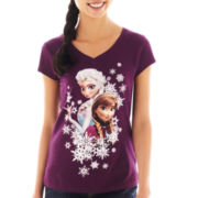 Freeze Frozen Elsa & Anna Tee