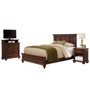 jcpenney.com | Roanoke Bed, Nightstand and Media Chest