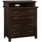 Mountain Lodge 4-Drawer Media Chest