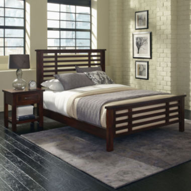 jcpenney.com | Mountain Lodge Bed and Nightstand