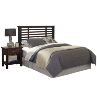 jcpenney.com | Mountain Lodge Metal Post Headboard and Nightstand