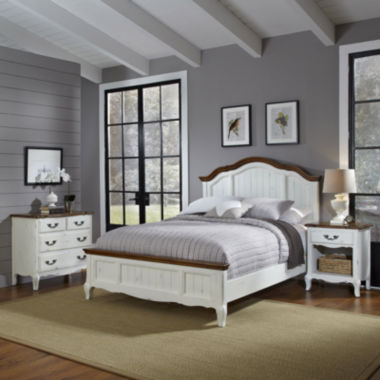 jcpenney.com | Beaumont Bed, Nightstand and 4-Drawer Chest Set