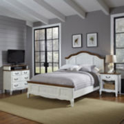 Beaumont Bed, Nightstand and Media Chest Set