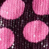 Carmine Rose Dots