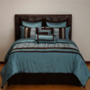 Options:32™ Maze 8-pc. Reversible Comforter Set