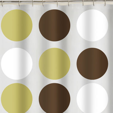 jcpenney.com | Studio™ Big Dot PEVA Vinyl Shower Curtain