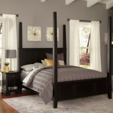 jcpenney.com | Rockbridge Poster Bed and Nightstand