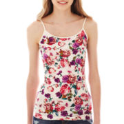 Arizona Favorite Print Cami without Shelf Bra
