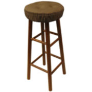 Klear Vu Gripper® DelightFill 2-Pack Twill Barstool Cushion