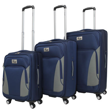 jcpenney.com | Chariot Travelware Prato 3-pc. Luggage Set