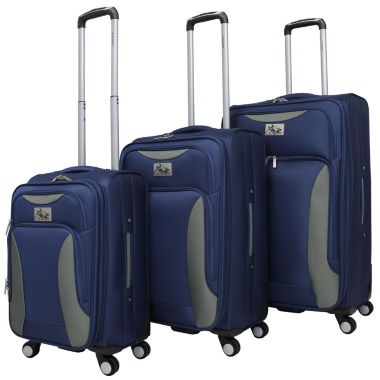 jcpenney.com | 3-pc. Softside Luggage Set