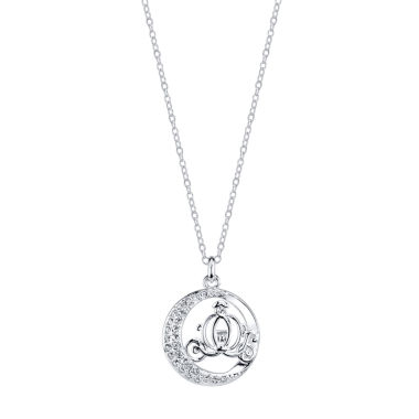 jcpenney.com | Disney Silver Over Brass Pendant Necklace