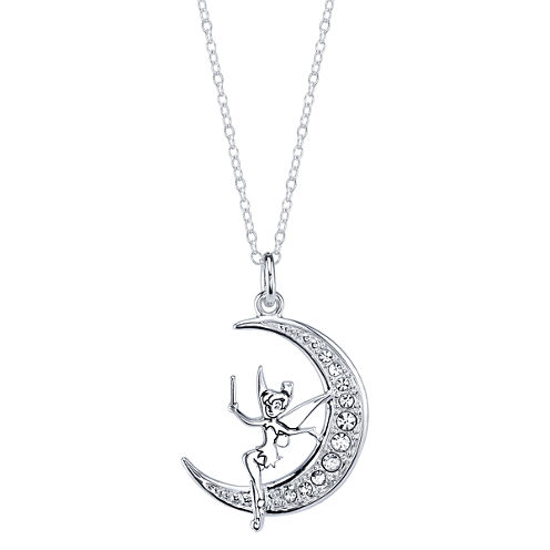 Disney Silver Over Brass Pendant Necklace