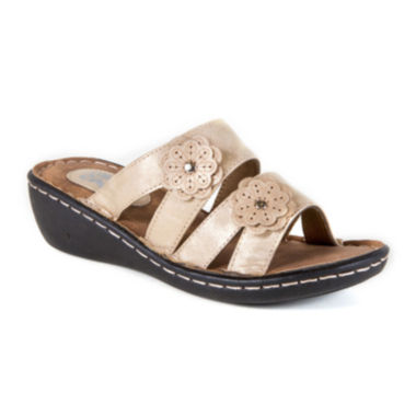 jcpenney.com | Soft Comfort Pillow Time Slip-On Wedge Sandals