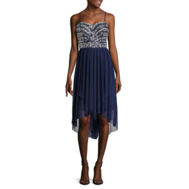 jcpenney.com | Be Smart Sleeveless Embellished Bust High-Low Dress - Juniors
