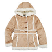 by&by Faux Suede Jacket - Girls