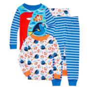 4-pc. Finding Dory Cotton Pajama Set - Boys