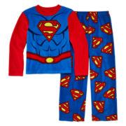 2-pc. Fleece Superman Pajama Set - Boys 4-10