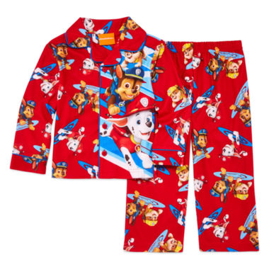 jcpenney.com | 2-pc. Button-Front Paw Patrol Pajama Set - Toddler Boys 2t-4t