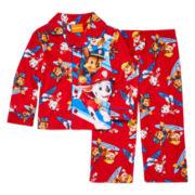 2-pc. Button-Front Paw Patrol Pajama Set - Toddler Boys 2t-4t