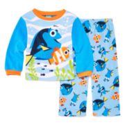 2-pc. Fleece Finding Dory Pajama Set - Toddler Boys 2t-5t