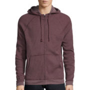 Arizona Funnel-Neck Zip-Up Hoodie